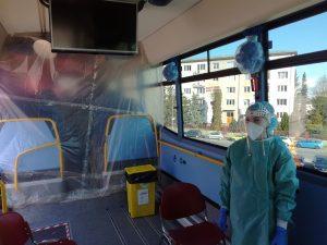 Krajský autobus pomáhá při pandemii – Koordinátor Integrovaného dopravního systému Olomouckého kraje